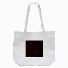 Black And Red Background Tote Bag (White)