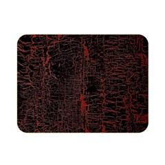 Black And Red Background Double Sided Flano Blanket (mini)