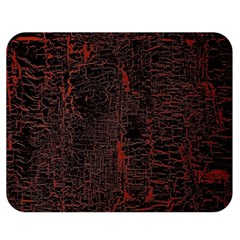 Black And Red Background Double Sided Flano Blanket (medium)