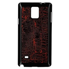 Black And Red Background Samsung Galaxy Note 4 Case (black)