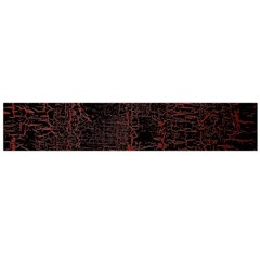 Black And Red Background Flano Scarf (large)