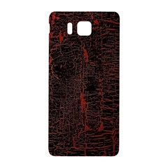 Black And Red Background Samsung Galaxy Alpha Hardshell Back Case