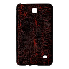 Black And Red Background Samsung Galaxy Tab 4 (7 ) Hardshell Case