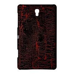 Black And Red Background Samsung Galaxy Tab S (8 4 ) Hardshell Case