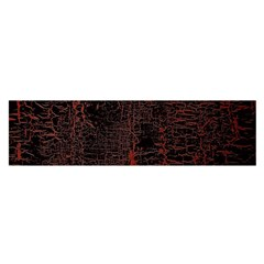 Black And Red Background Satin Scarf (oblong)