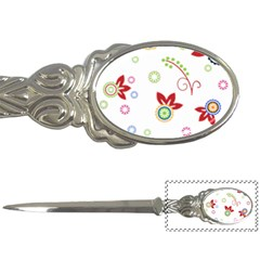 Colorful Floral Wallpaper Background Pattern Letter Openers