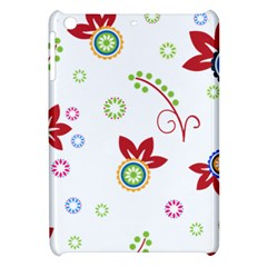 Colorful Floral Wallpaper Background Pattern Apple Ipad Mini Hardshell Case