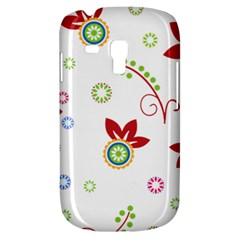Colorful Floral Wallpaper Background Pattern Galaxy S3 Mini