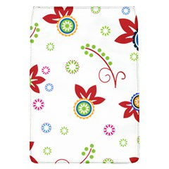 Colorful Floral Wallpaper Background Pattern Flap Covers (l)