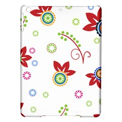 Colorful Floral Wallpaper Background Pattern Ipad Air Hardshell Cases