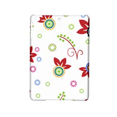 Colorful Floral Wallpaper Background Pattern iPad Mini 2 Hardshell Cases