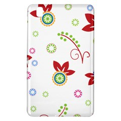 Colorful Floral Wallpaper Background Pattern Samsung Galaxy Tab Pro 8 4 Hardshell Case
