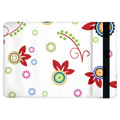 Colorful Floral Wallpaper Background Pattern Ipad Air Flip