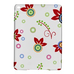 Colorful Floral Wallpaper Background Pattern iPad Air 2 Hardshell Cases