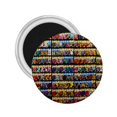 Flower Seeds For Sale At Garden Center Pattern 2 25  Magnets
