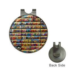 Flower Seeds For Sale At Garden Center Pattern Hat Clips With Golf Markers