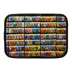 Flower Seeds For Sale At Garden Center Pattern Netbook Case (medium)