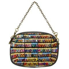 Flower Seeds For Sale At Garden Center Pattern Chain Purses (one Side)