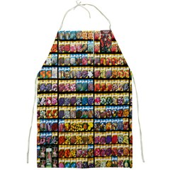 Flower Seeds For Sale At Garden Center Pattern Full Print Aprons