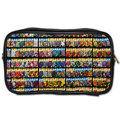Flower Seeds For Sale At Garden Center Pattern Toiletries Bags