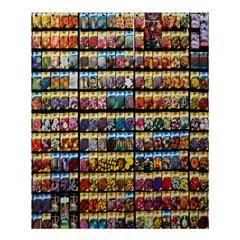 Flower Seeds For Sale At Garden Center Pattern Shower Curtain 60  X 72  (medium)
