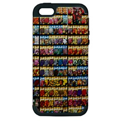 Flower Seeds For Sale At Garden Center Pattern Apple Iphone 5 Hardshell Case (pc+silicone)