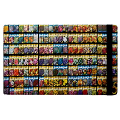 Flower Seeds For Sale At Garden Center Pattern Apple Ipad 3/4 Flip Case