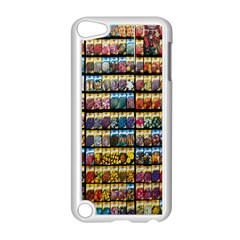 Flower Seeds For Sale At Garden Center Pattern Apple Ipod Touch 5 Case (white)