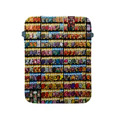 Flower Seeds For Sale At Garden Center Pattern Apple iPad 2/3/4 Protective Soft Cases
