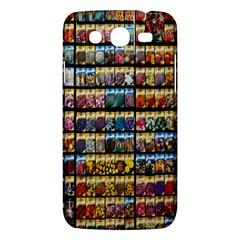 Flower Seeds For Sale At Garden Center Pattern Samsung Galaxy Mega 5 8 I9152 Hardshell Case