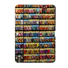 Flower Seeds For Sale At Garden Center Pattern Samsung Galaxy Tab 2 (10.1 ) P5100 Hardshell Case
