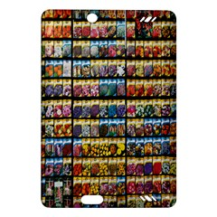 Flower Seeds For Sale At Garden Center Pattern Amazon Kindle Fire Hd (2013) Hardshell Case
