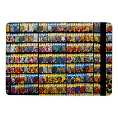 Flower Seeds For Sale At Garden Center Pattern Samsung Galaxy Tab Pro 10 1  Flip Case