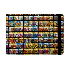 Flower Seeds For Sale At Garden Center Pattern iPad Mini 2 Flip Cases