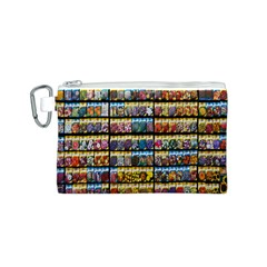 Flower Seeds For Sale At Garden Center Pattern Canvas Cosmetic Bag (s)