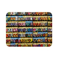 Flower Seeds For Sale At Garden Center Pattern Double Sided Flano Blanket (Mini)