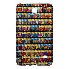 Flower Seeds For Sale At Garden Center Pattern Samsung Galaxy Tab 4 (7 ) Hardshell Case
