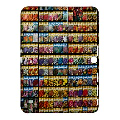 Flower Seeds For Sale At Garden Center Pattern Samsung Galaxy Tab 4 (10.1 ) Hardshell Case