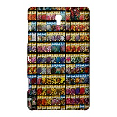 Flower Seeds For Sale At Garden Center Pattern Samsung Galaxy Tab S (8.4 ) Hardshell Case