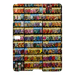 Flower Seeds For Sale At Garden Center Pattern Samsung Galaxy Tab S (10 5 ) Hardshell Case