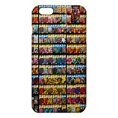 Flower Seeds For Sale At Garden Center Pattern Iphone 6 Plus/6s Plus Tpu Case