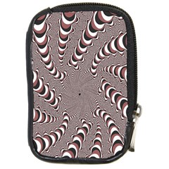 Digital Fractal Pattern Compact Camera Cases