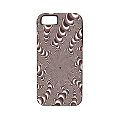 Digital Fractal Pattern Apple Iphone 5 Classic Hardshell Case (pc+silicone)