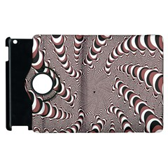 Digital Fractal Pattern Apple Ipad 2 Flip 360 Case