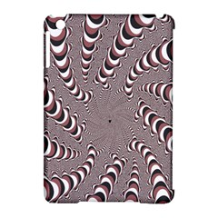 Digital Fractal Pattern Apple Ipad Mini Hardshell Case (compatible With Smart Cover)