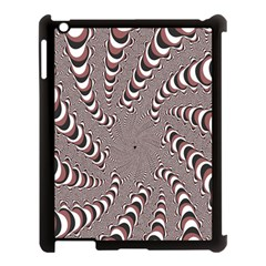 Digital Fractal Pattern Apple Ipad 3/4 Case (black)