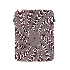 Digital Fractal Pattern Apple Ipad 2/3/4 Protective Soft Cases