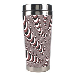 Digital Fractal Pattern Stainless Steel Travel Tumblers
