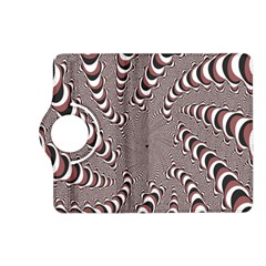 Digital Fractal Pattern Kindle Fire Hd (2013) Flip 360 Case