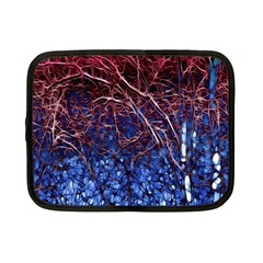 Autumn Fractal Forest Background Netbook Case (small)